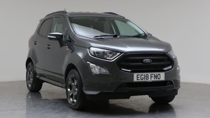 2018 Used Ford EcoSport 1L ST-Line EcoBoost T