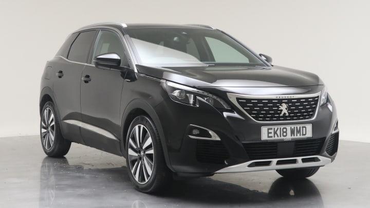 2018 Used Peugeot 3008 1.5L GT Line Premium BlueHDi