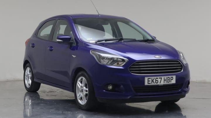 2017 Used Ford Ka+ 1.2L Zetec Ti-VCT
