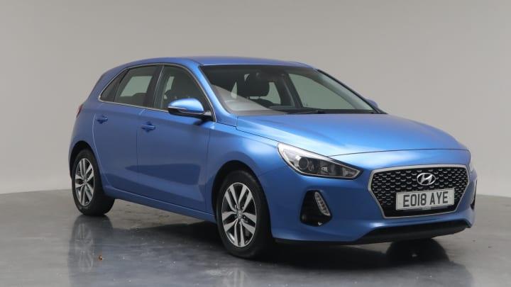 2018 Used Hyundai i30 1.4L SE Nav Blue Drive T-GDi