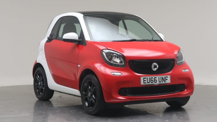 2016 Used Smart fortwo 1L Prime