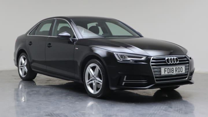 2018 used Audi A4 2L S line ultra TDI