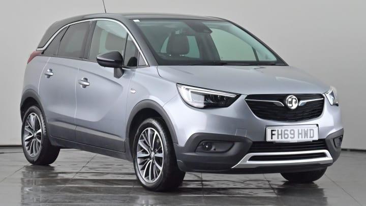 2019 used Vauxhall Crossland X 1.2L Elite Turbo