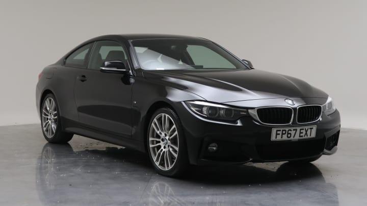 2017 Used BMW 4 Series 3L M Sport 430d