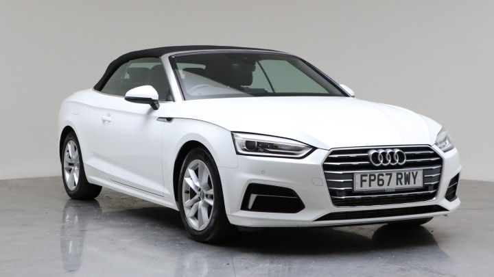 2017 Used Audi A5 Cabriolet 2L Sport TFSI