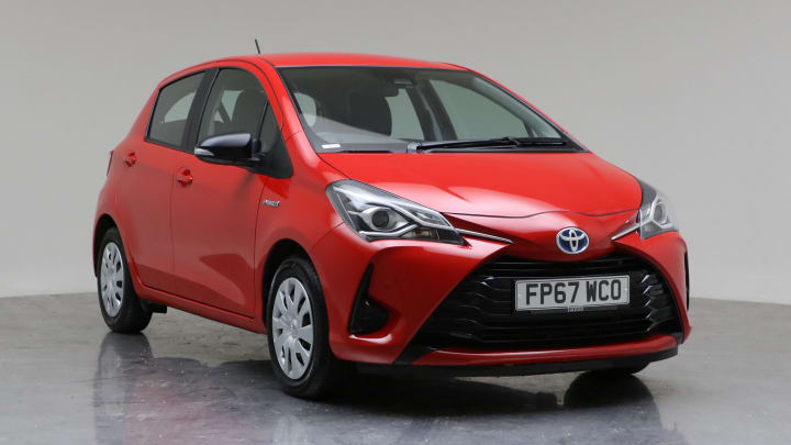 2017 Used Toyota Yaris 1.5L Active VVT-h
