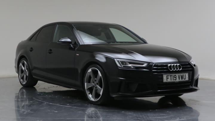 2019 Used Audi A4 2L Black Edition TDI