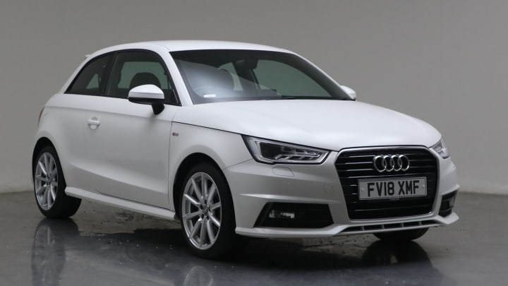 2018 Used Audi A1 1.4L S line CoD TFSI