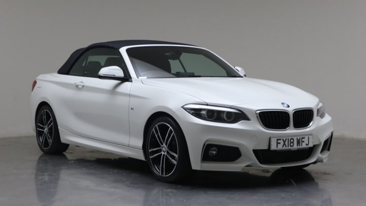 2018 Used BMW 2 Series 2L M Sport 218d