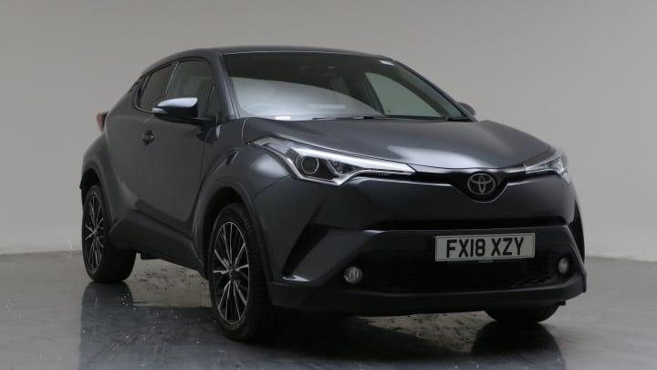 2018 Used Toyota C-HR 1.2L Excel VVT-i