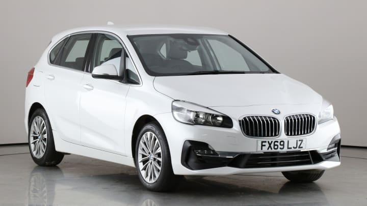 2019 used BMW 2 Series Active Tourer 2L Luxury 220d