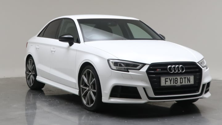 2018 Used Audi S3 2L Black Edition TFSI