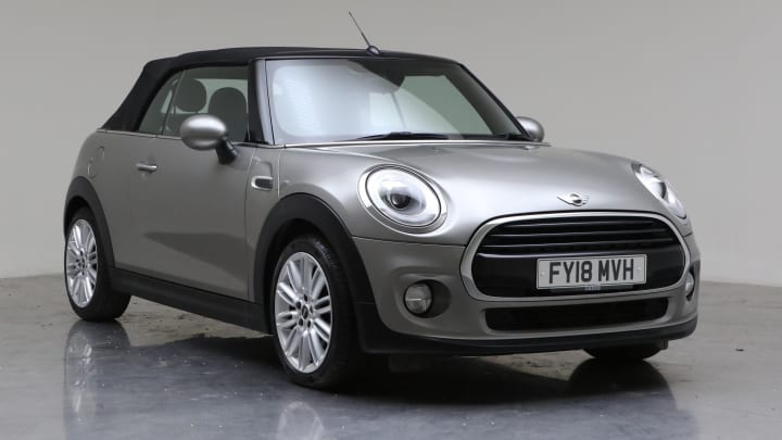 2018 Used Mini Convertible 1.5L Cooper