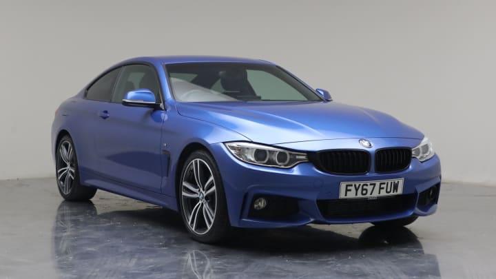 2017 Used BMW 4 Series 2L M Sport 420d