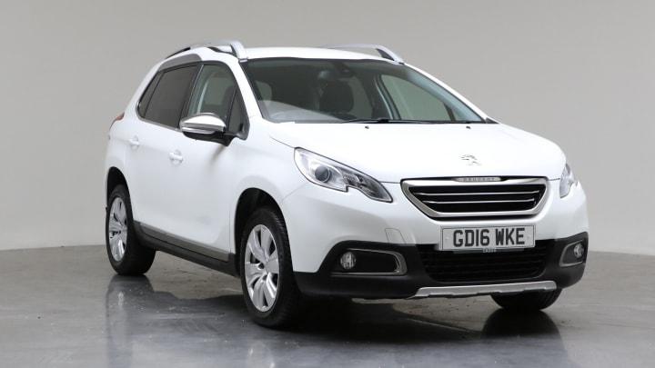 2016 Used Peugeot 2008 1.6L Allure BlueHDi