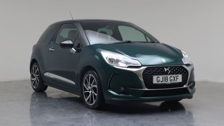 2018 Used DS DS 3 1.6L Connected Chic BlueHDi