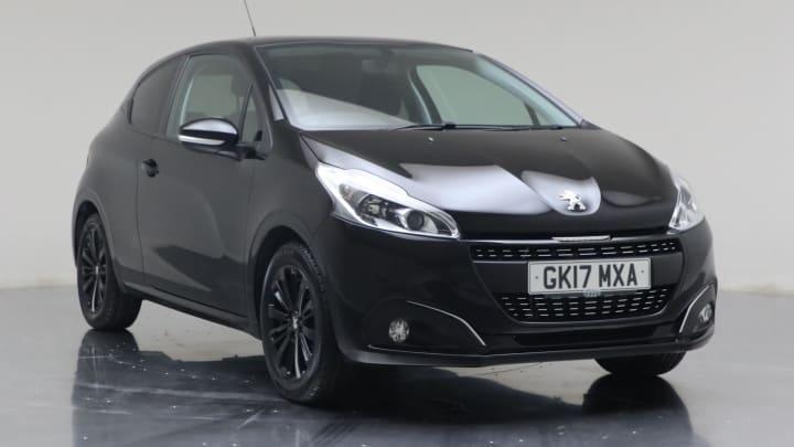 2017 Used Peugeot 208 1.2L Black Edition PureTech