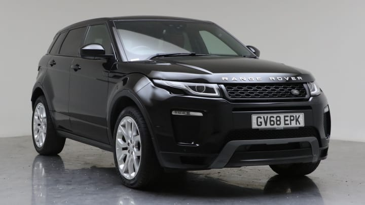 2018 Used Land Rover Range Rover Evoque 2L HSE Dynamic Si4