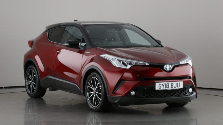2018 Used Toyota C-HR 1.8L Red Edition VVT-h