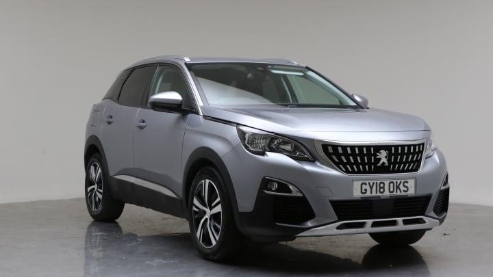 2018 Used Peugeot 3008 1.2L Allure PureTech