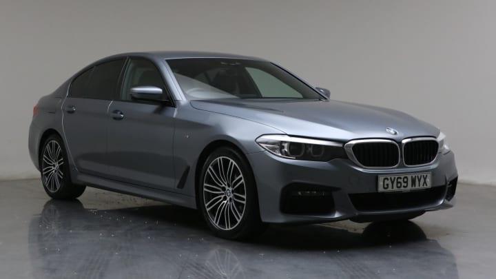 2019 Used BMW 5 Series 2L M Sport MHT 520d