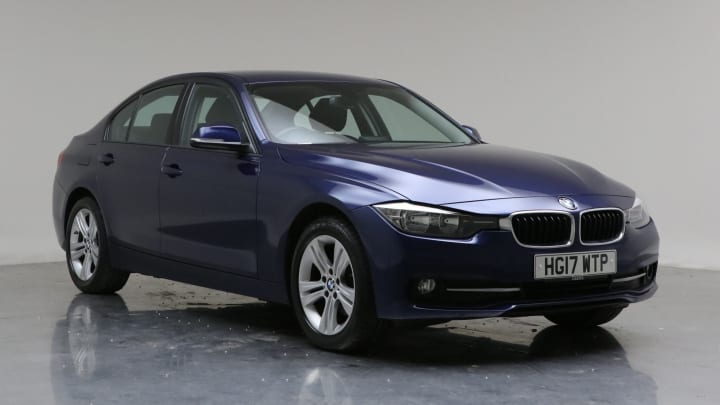 2017 Used BMW 3 Series 2L Sport BluePerformance 320d