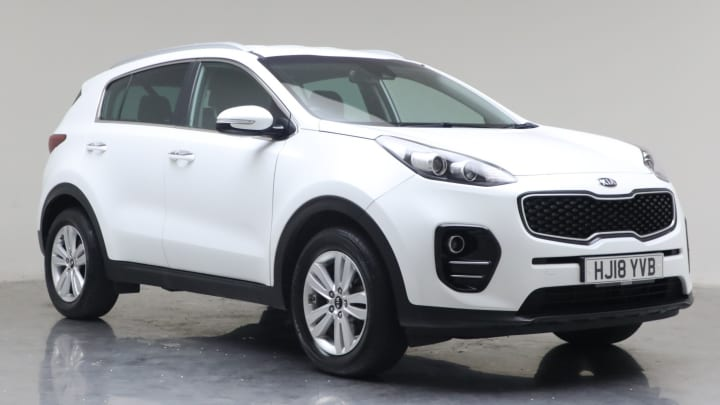 2018 Used Kia Sportage 1.7L 2 CRDi