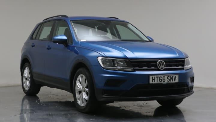 2017 used Volkswagen Tiguan 1.4L S BlueMotion Tech TSI