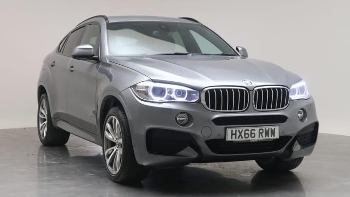 2016 Used BMW X6 3L M Sport 40d