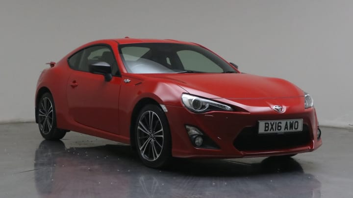 2016 used Toyota GT86 2L D-4S