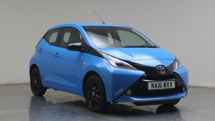2016 used Toyota AYGO 1L x-cite VVT-i