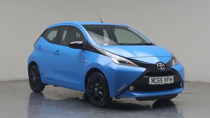 2015 used Toyota AYGO 1L x-cite VVT-i