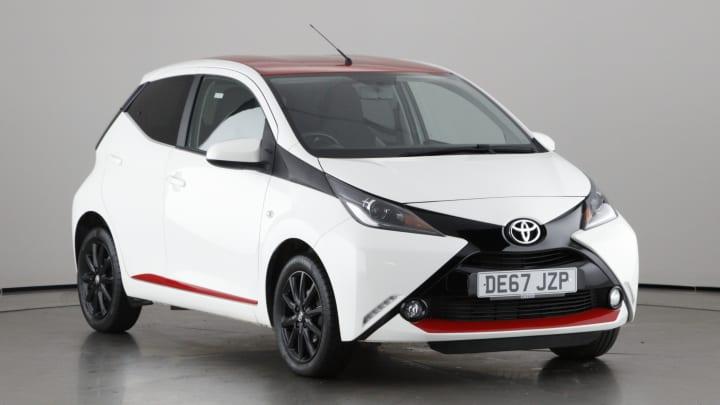 2017 used Toyota AYGO 1L x-press VVT-i