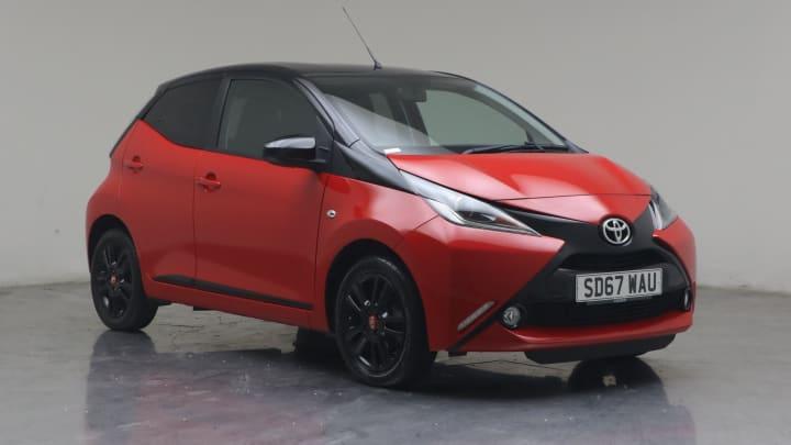 2017 used Toyota AYGO 1L x-cite 4 VVT-i