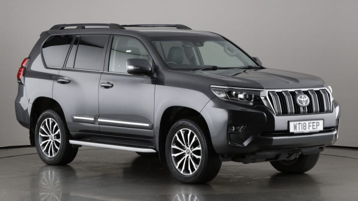 2018 used Toyota Land Cruiser 2.8L Invincible D