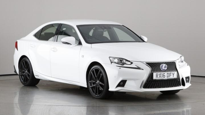 2016 used Lexus IS 300 2.5L F Sport