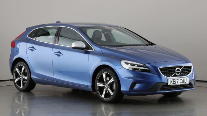 2017 used Volvo V40 2L R-Design Nav Plus T2