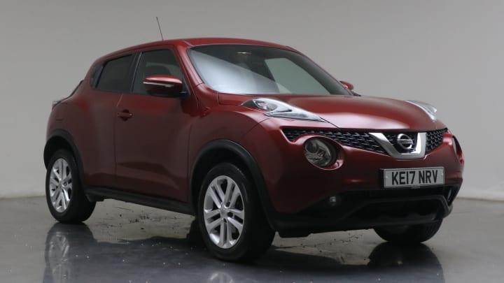 2017 Used Nissan Juke 1.2L N-Connecta DIG-T