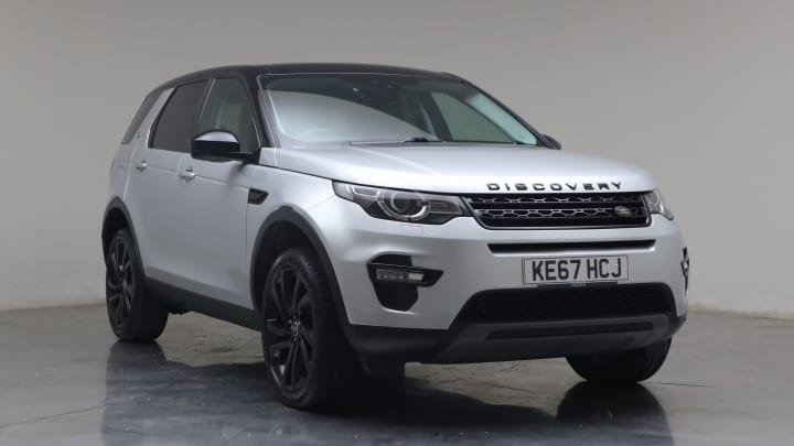 2017 Used Land Rover Discovery Sport 2L HSE Black TD4