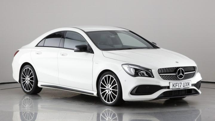 2017 Used Mercedes-Benz CLA Class 2.1L WhiteArt CLA200d