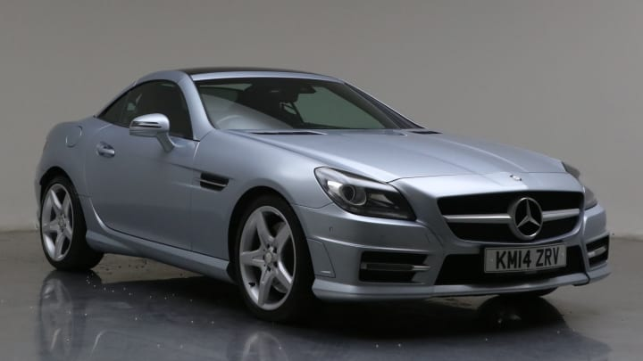 2014 Used Mercedes-Benz SLK 2.1L AMG Sport BlueEFFICIENCY SLK250 CDI