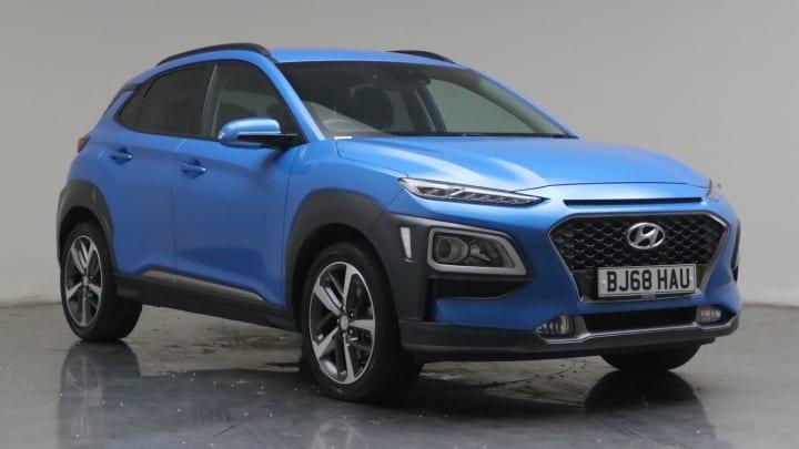 2018 used Hyundai KONA 1L Premium Blue Drive T-GDi