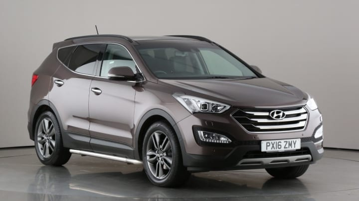 2016 used Hyundai Santa Fe 2.2L Premium SE CRDi