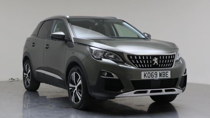 2020 Used Peugeot 3008 1.2L Allure PureTech