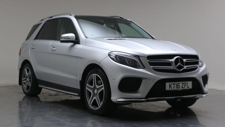 2016 Used Mercedes-Benz GLE Class 3L AMG Line GLE350d V6