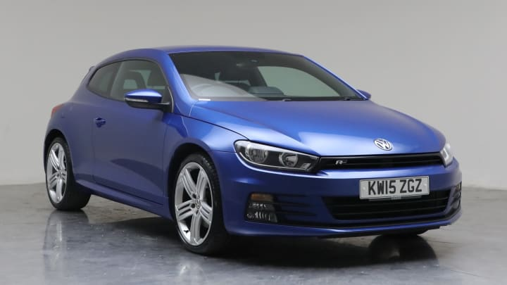 2015 used Volkswagen Scirocco 2L R-Line BlueMotion Tech TSI