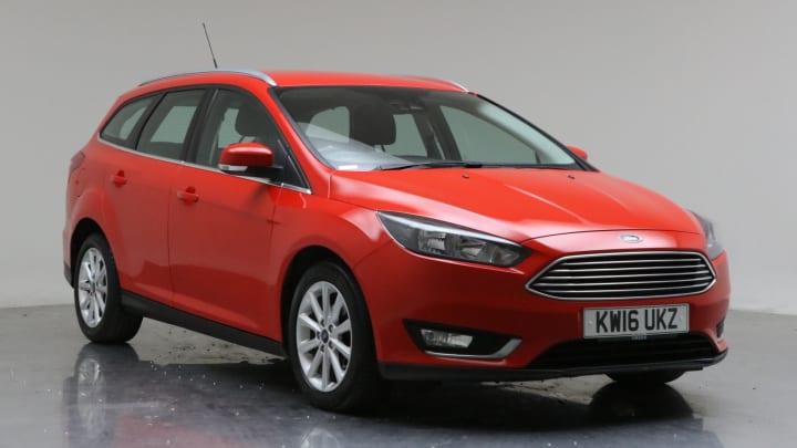 2016 Used Ford Focus 1.5L Titanium TDCi