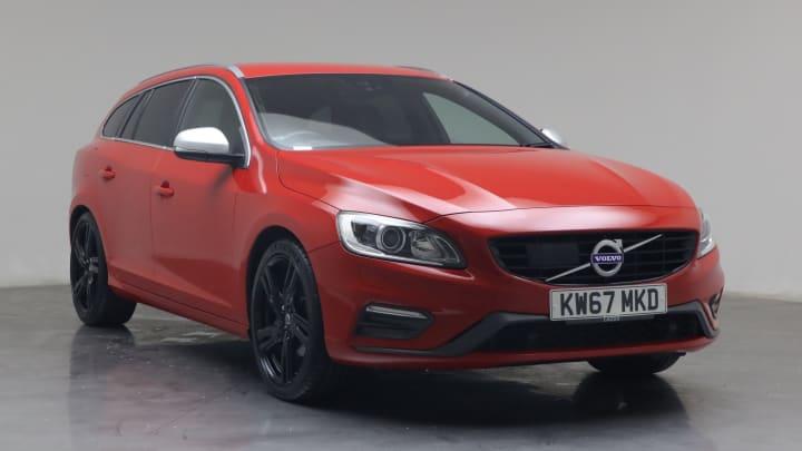 2017 used Volvo V60 2L R-Design Lux Nav D3