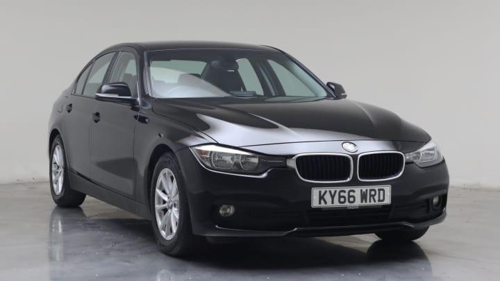 2017 Used BMW 3 Series 2L ED Plus BluePerformance 320d