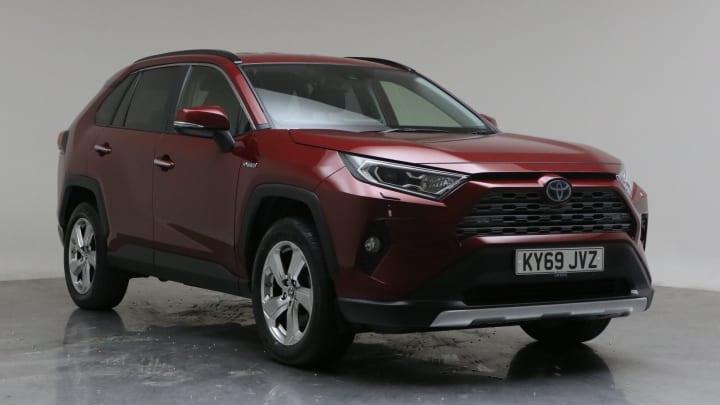 2019 Used Toyota RAV4 2.5L Excel VVT-h